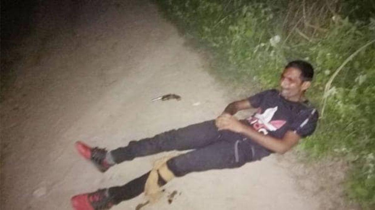 ग़ाज़ियाबाद: यूपी पुलिस ने मुठभेड़ में पकड़े 6 अपराधी