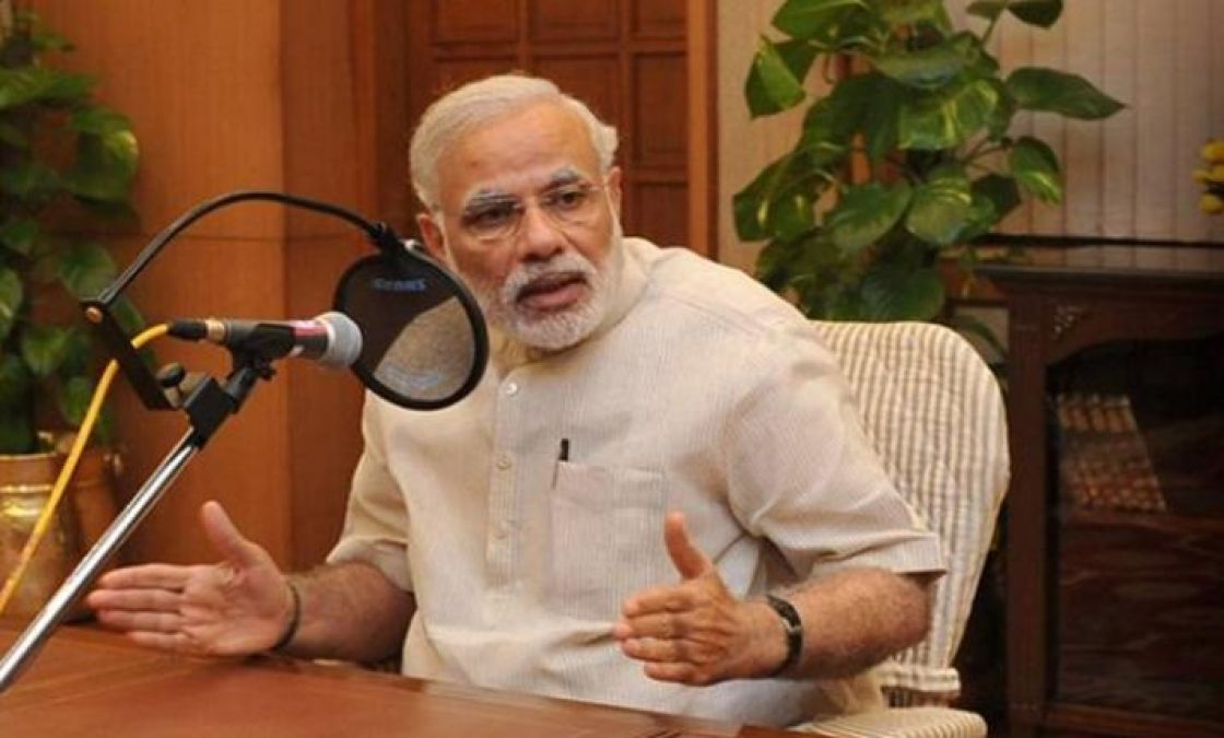 Today, PM Modi will address the nation through Mann Ki Baat, can give information on Article 370