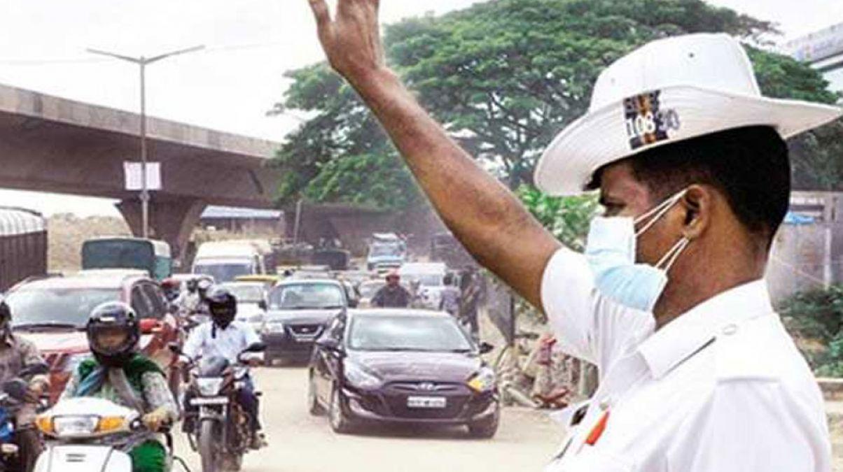 Rajasthan: Traffic week organised in Dungarpur district, free helmets