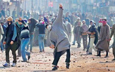 J&K: Stone pelting in terror-hit Anantnag district, a Kashmiri truck driver killed