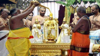 Devotees throng Tirumala Tirupati's Lord Balaji temple, donation of Rs. 4 crore in a day
