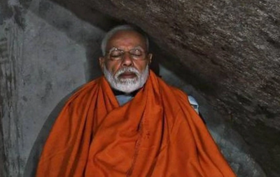 The cave in which PM Modi mediated is waiting for visitors