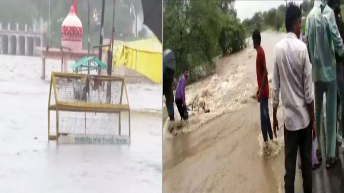 Flood havoc in Ujjain, temple submerged, Shipra in
