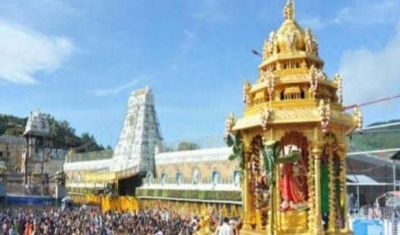 भाजपा नेता का गंभीर आरोप, कहा- तिरुपति मंदिर से गायब हुआ चांदी का मुकुट