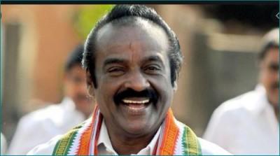 Congress MP from Kanyakumari dies due to corona
