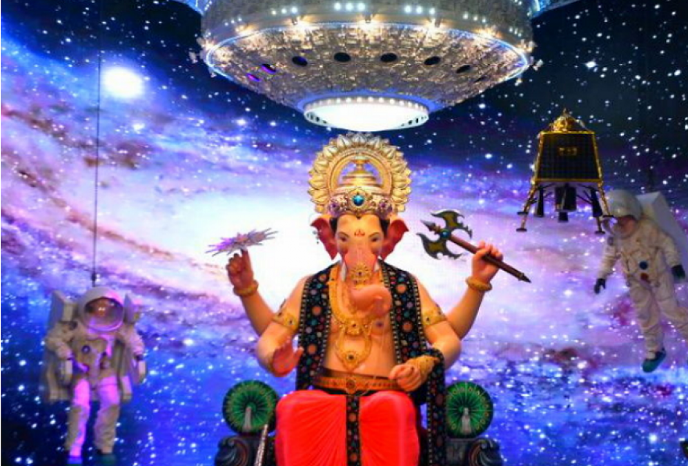 VIDEO: Lalbaugcha Raja comes with a space theme this year, check out the first glimpse here