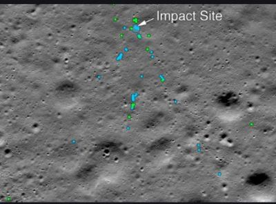 Chandrayan- 2: Vikram Lander's debris found on the moon's surface, NASA shares photos