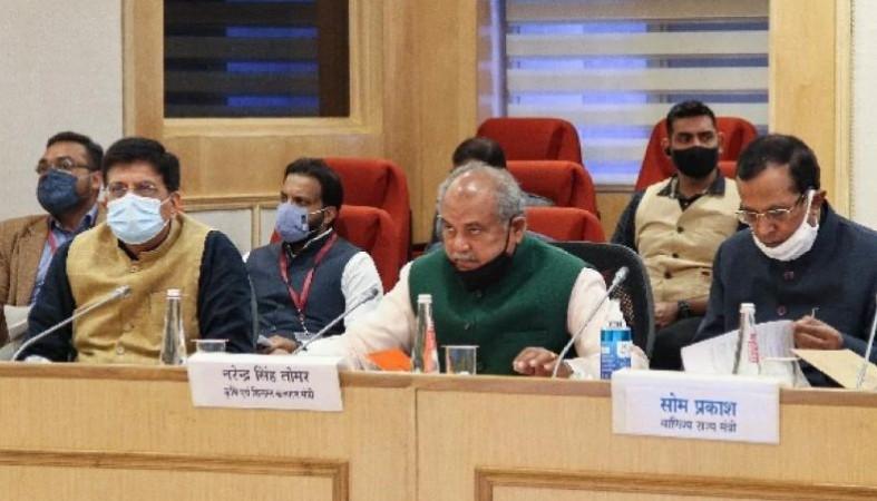 किसान आंदोलन: MSP का दायरा बढ़ा सकती है सरकार, किसानों संग बैठक में इन मुद्दों पर हुई चर्चा
