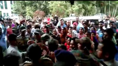 People angry over rape accused, beaten in court premises