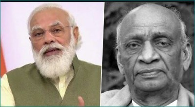 Today is the 70th death anniversary of Sardar Patel, PM Modi pays tribute
