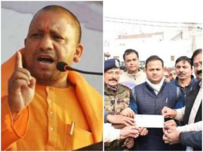 Recovery will be done: The impact of the toughness of CM Yogi, the people of Bulandshahr handed over 6 lakh rupees to the DM himself