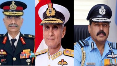 Three friends will take command of three armies of country