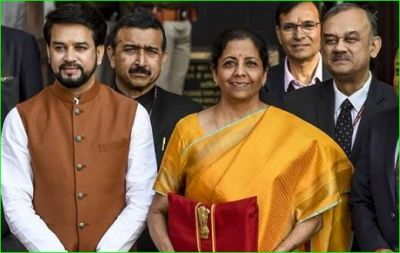 Finance Minister Nirmala Sitharaman reaches Parliament, budget will be presented at 11 am