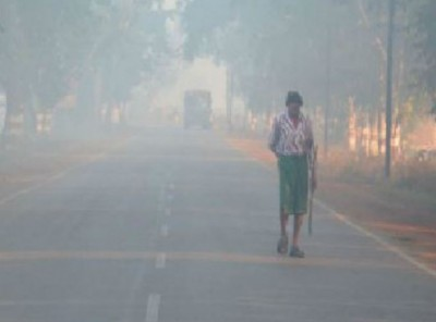 Outbreak of cold in many areas of Raipur, many records broken