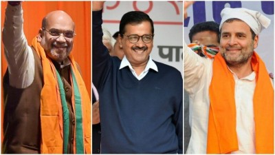 Delhi Election Live: BJP ahead on 10 and AAP leading on 32 seats, Vijay Goel claims BJP victory