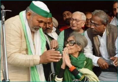 Mahatma Gandhi's granddaughter supports farmers