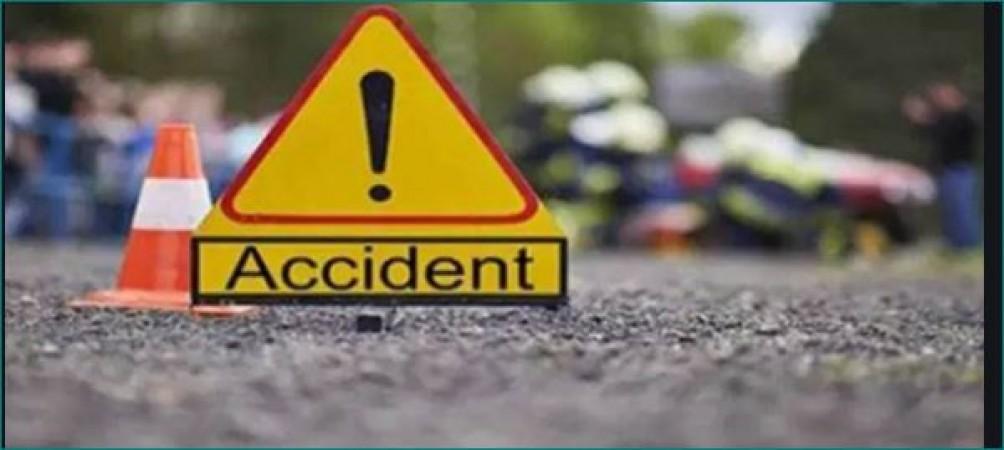 मुबंई-पुणे एक्सप्रेस पर हुआ भीषण सड़क हादसा, 5 लोगों की मौत और 5 घायल