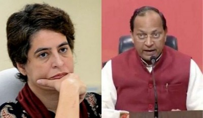 Arun Singh furious at Priyanka Gandhi says 'won't be able to differentiate between wheat and barley crops'