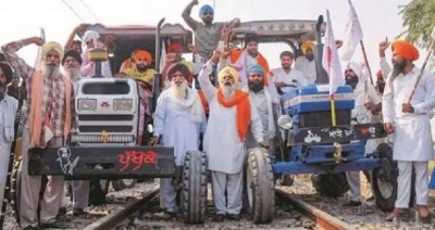 Farmers 'Rail Roko' movement against agricultural law today
