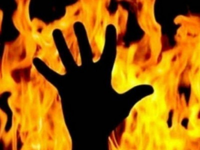 Old man burnt alive after his grandson fled with girl of village