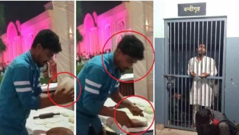 थूक लगाकर तंदूरी रोटी सेंकने वाला सुहैल गिरफ्तार, वीडियो वायरल होने के बाद लिया गया एक्शन