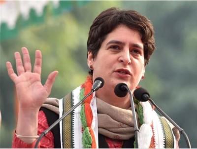 Priyanka Gandhi to address in Mathura today