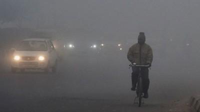 Weather in Jaipur takes a turn, fog engulfed Jaipur