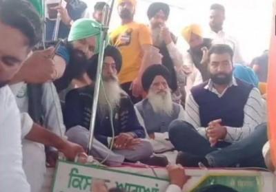 Lakha Sidhana did public rally in Bathinda amid farmers' protest