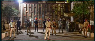 Security heightened outside Mukesh Ambani's house