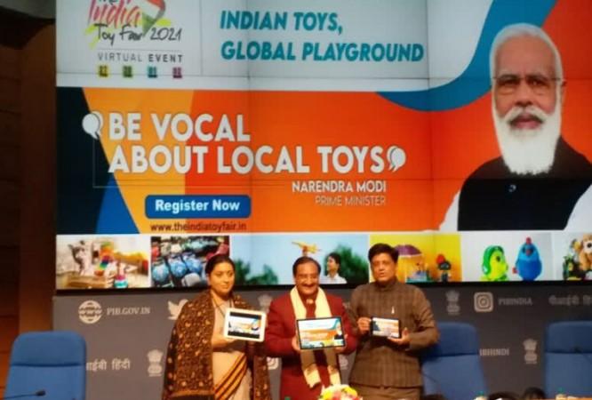 'वोकल पर लोकल' के तहत आज पहले 'भारत खिलौना मेला' का उद्घाटन करेंगे पीएम मोदी