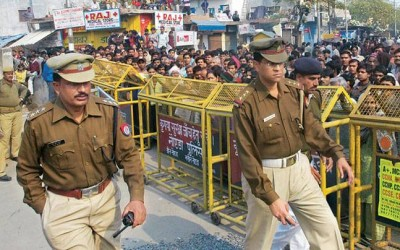 High alert in UP after Delhi violence, stones found on roofs of houses in Bijnor
