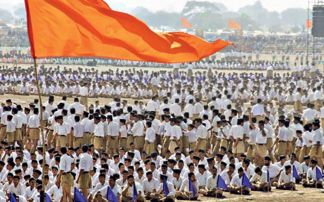 RSS leader demands, word 'secular' be removed from constitution | NewsTrack  English 1
