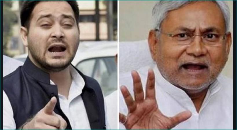 CM नीतीश पर भड़के तेजस्वी, बोले- 'नहीं संभल रहा बिहार तो दें इस्तीफा'