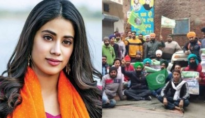 Farmers try to meet Janhvi Kapoor amid protest, Know why?