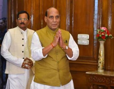 Defense Minister Rajnath Singh said, 'Even after retirement, ex-servicemen through different areas...'