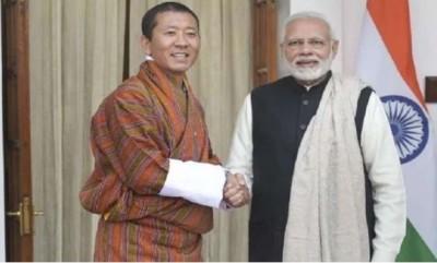 Bhutan PM congratulates PM Modi for corona vaccination