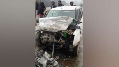Inspector died, three injured after a tragic road accident on the Meerut-Bulandshahar highway,