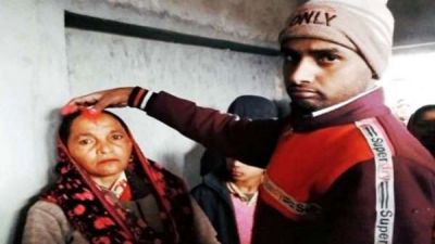 20-year-old man married 60-year-old woman, this is how they fell in love