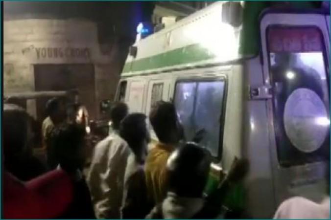 हैदराबाद के मीर चौक में ब्लास्ट हुआ सिलेंडर, 13 लोग घायल