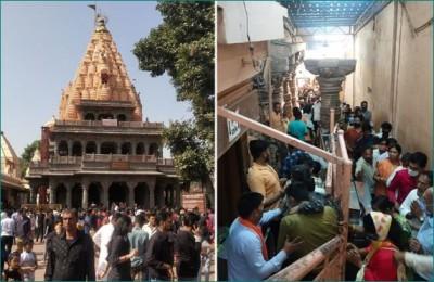Ujjain: Major accident averted at Mahakal temple on first Monday of Sawan