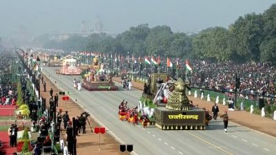Indian Army's bravery on the Rajpath, the culture of India seen in the tableaux of many states
