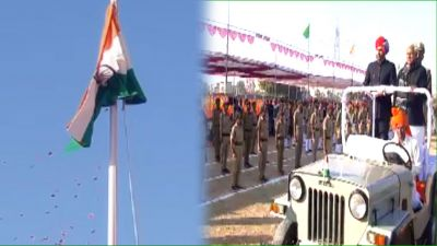 Republic Day: Parade and cultural events held in Dausa district headquarters