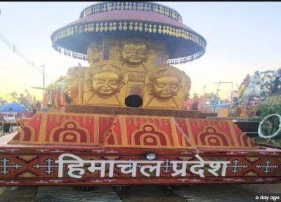 Glimpse of 369 years old Kullu Dushhehra seen in Republic Day parade