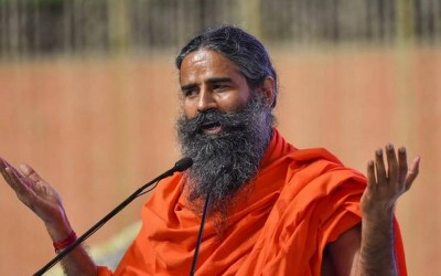 Baba Ramdev organises Press conference in Haridwar