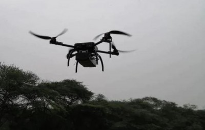 9th time in 6 days, drone reappears at the Jammu International border