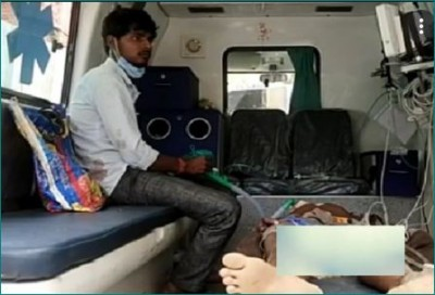 Bhopal: Patient lying in ambulance outside hospital for 3 hours dies