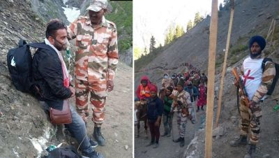 Amarnath Yatra: 'Jawans' are protecting devotees, video goes viral