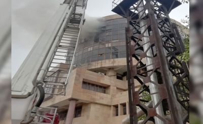 Delhi: Fire engulfs DGHS building, 22 fire  brigades take over charge
