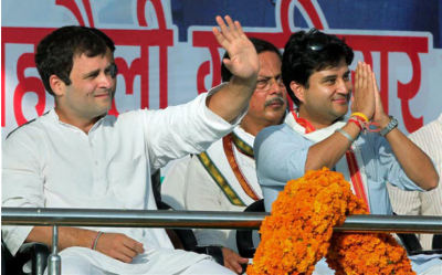 Will Jyotiraditya sit in Rahul Gandhi's chair? Demand raised in Bhopal