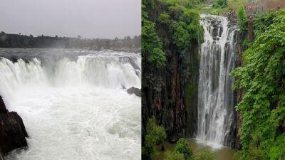 मध्य प्रदेश: अच्छी बारिश से बढ़ी पर्यटकों की भीड़, पातालपानी और भेड़ाघाट में लगा जमावड़ा